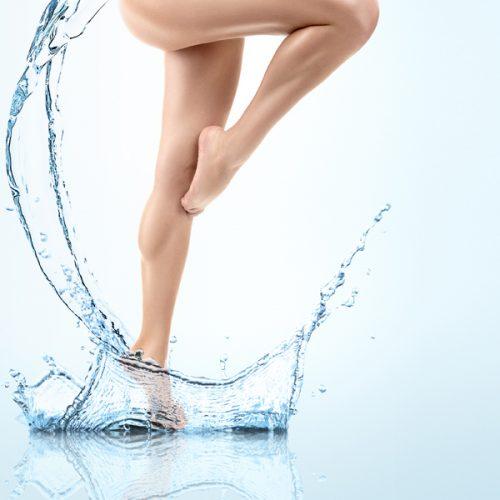 Ritenzione idrica: quale acqua bere?
