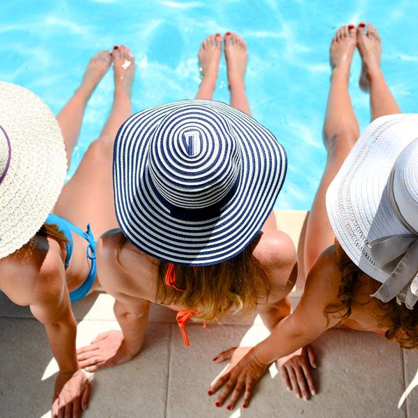 Vivi il piacere della piscina al sicuro dalle infezioni